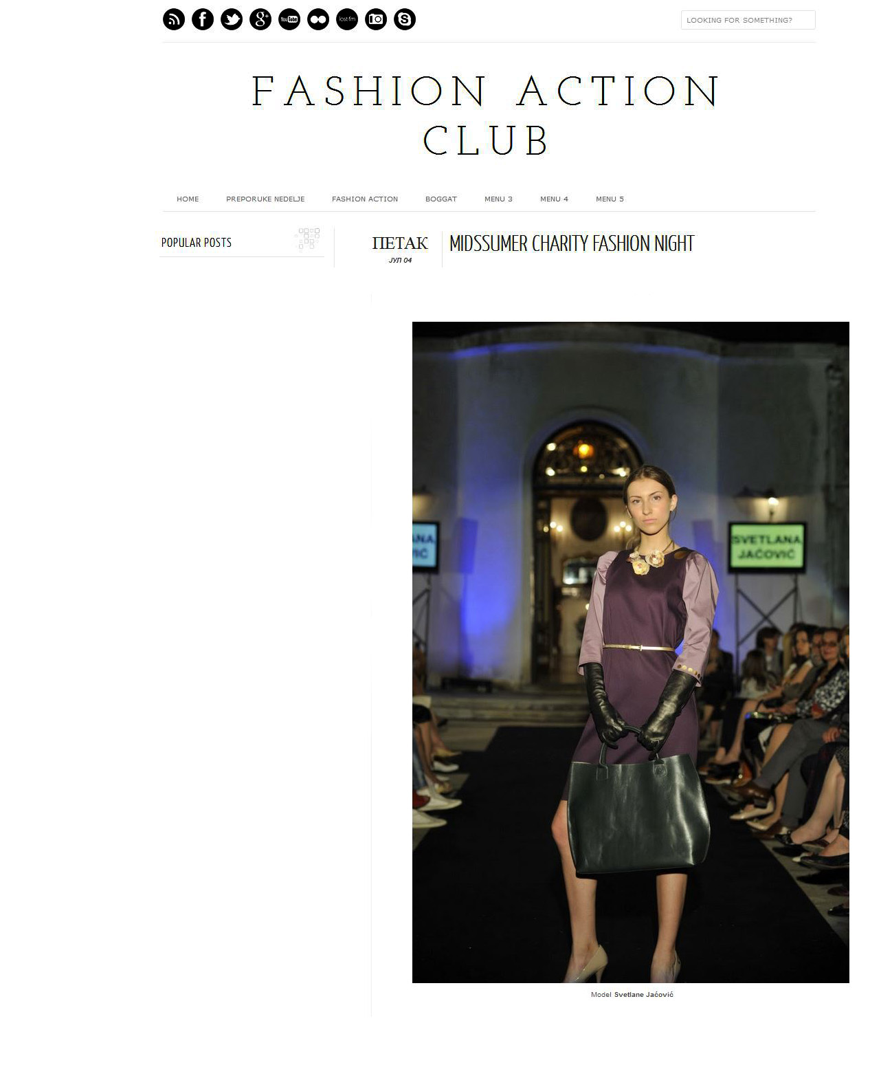 Fashionaction-club, July 2014