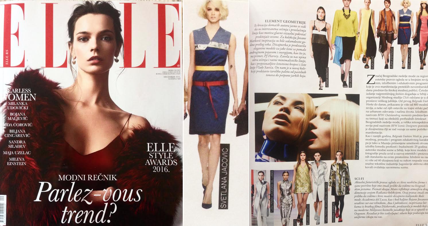 Elle, Dec 2016