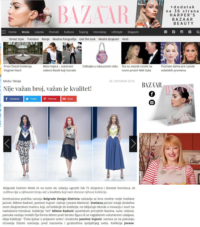 Harper`s Bazaar, Nov 2018